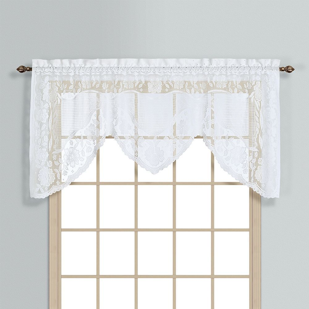 United Curtain Co Windsor Swag Window Valance 72 X 36