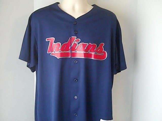 Majestic Genuine Merchandise Cleveland Indians XL Jersey Shirt MLB Baseball  USA  Majestic  ClevelandIndians 88a14e18b
