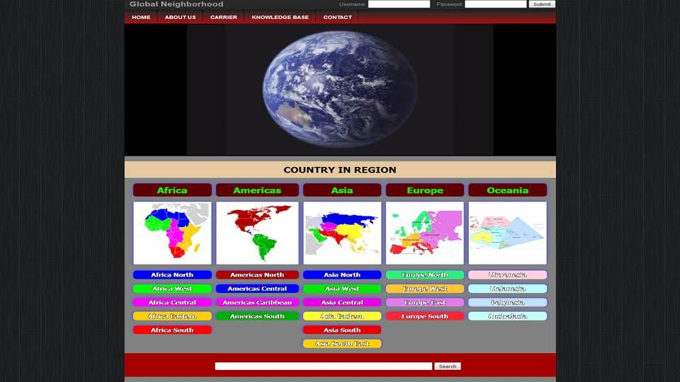 V-BOL, Global Neighborhood Website Management Services Directory - community service directory