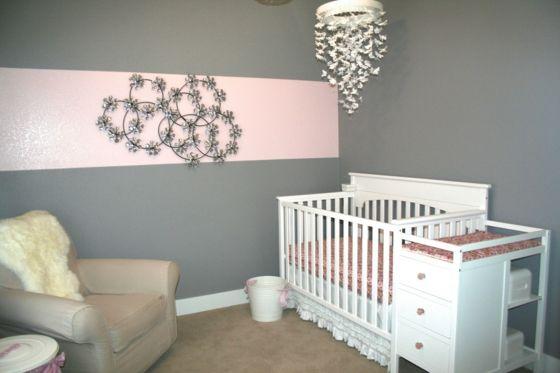 Déco chambre bébé fille en gris: pourquoi pas ! | Chambres bébé ...