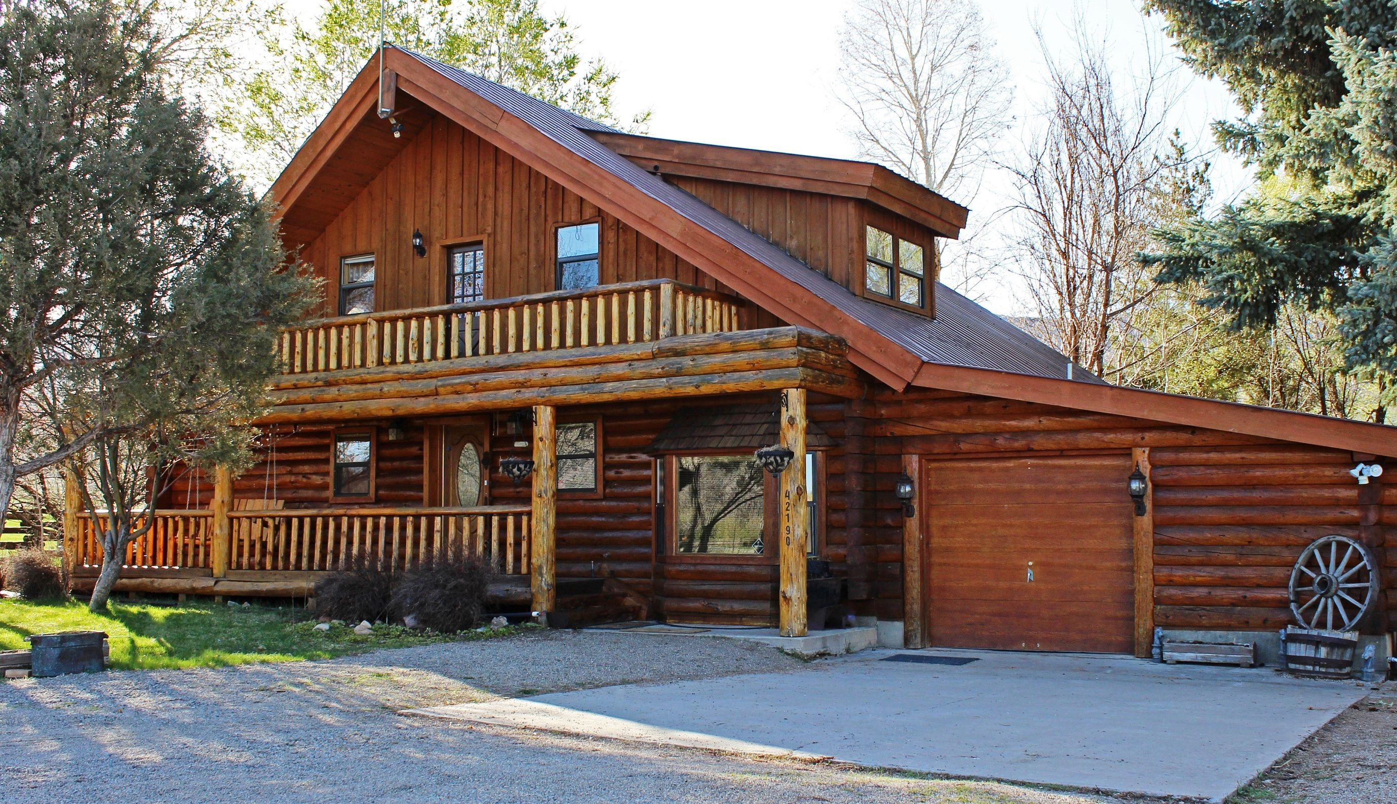 sale home snowmass rentals cabins on log real outdoor vacation of signature rental properties colorado patio estate luxury aspen for