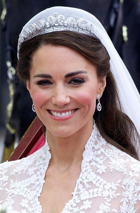 kate middleton has worn a tiara only ten times see them all here kate middleton wedding kate middleton hair middleton wedding kate middleton has worn a tiara only