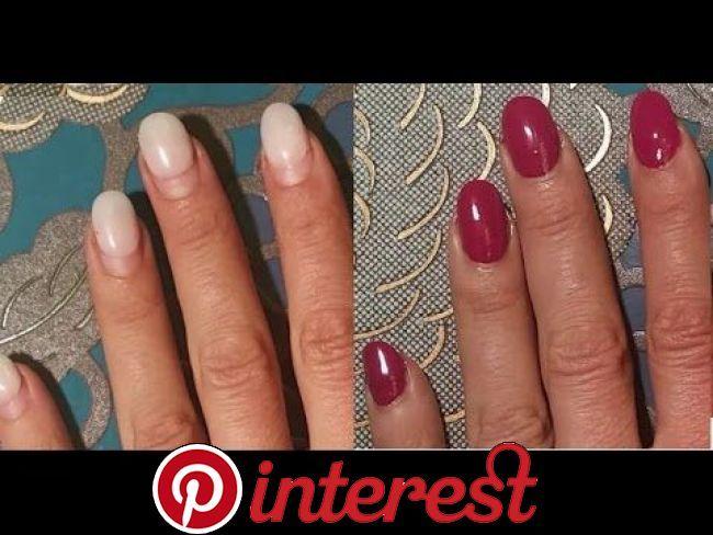 Trick gegen rausgewachsene Fingernägel, Gelnägel