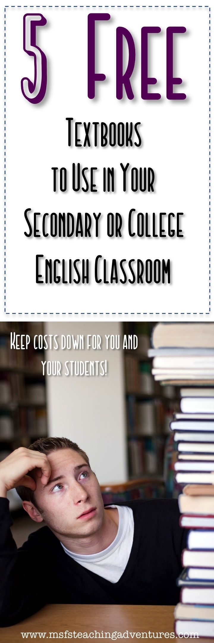 Free Textbooks For Secondary And College English Free Textbooks