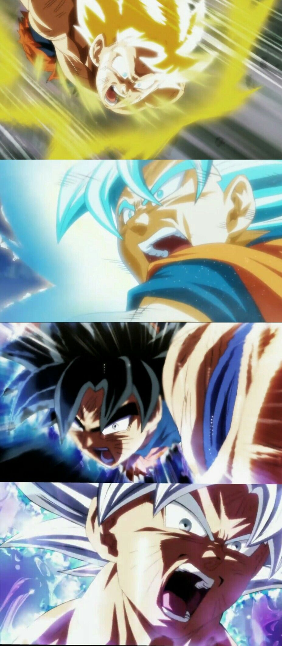 Best Animated Scenes Of Dragon Ball Super By Naotoshi Shida And