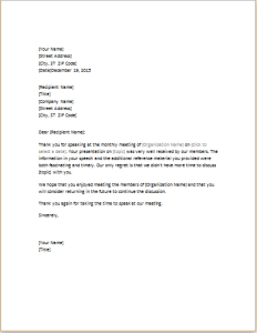 Thank you letter to speaker download at httpdoxhub academic letter templates for word document hub parent conference thank you notes best free home design idea inspiration spiritdancerdesigns Gallery