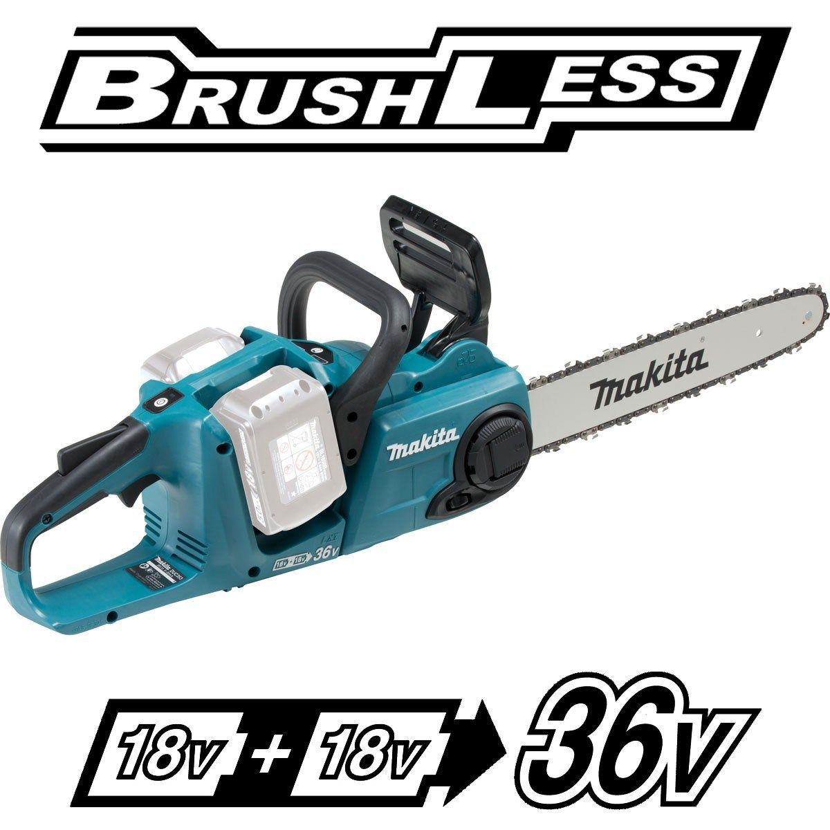 Makita duc353z twin 18v brushless chainsaw herramientas makita duc353z twin 18v brushless chainsaw keyboard keysfo Images