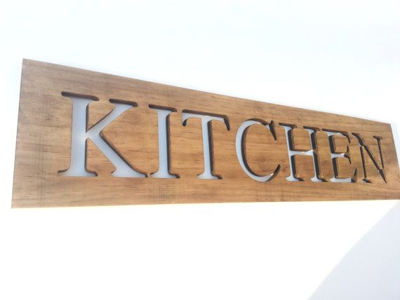 Buy kitchen art wooden sign cut out letters by timberartsigns buy kitchen art wooden sign cut out letters by timberartsigns explore more products on http spiritdancerdesigns Gallery