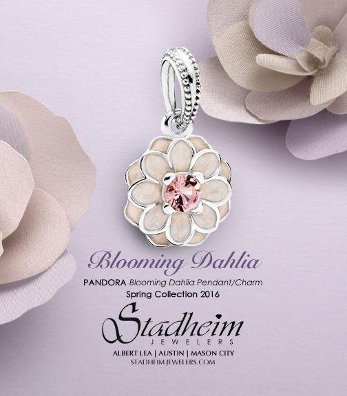 b7aa5dc5a Pandora Blooming Dahlia Pendant/Charm - Spring Collection 2016 ...