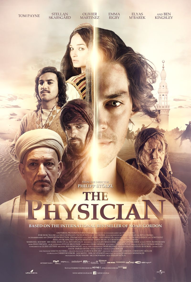 The Physician Movie Posters on Behance Tom payne, Movie