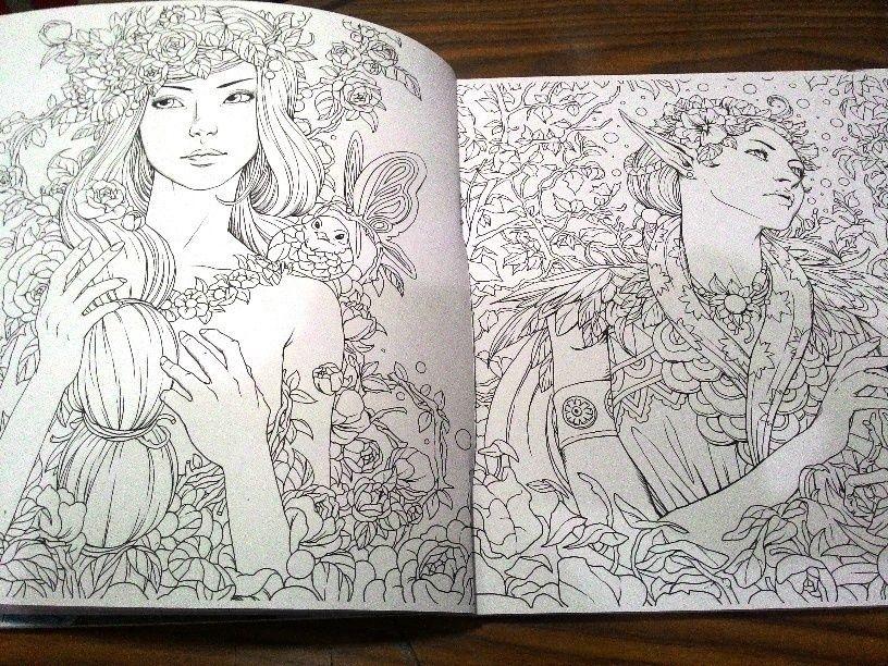 FANTASIA - Coloring Book, Malbuch (Nicholas F. Chandrawienata) in ...