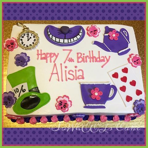 Image Result For Alice In Wonderland Sheet Cake Sheet Cake
