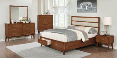 Banning in 2019 | Mid Century | Oak bedroom furniture, Wood ...
