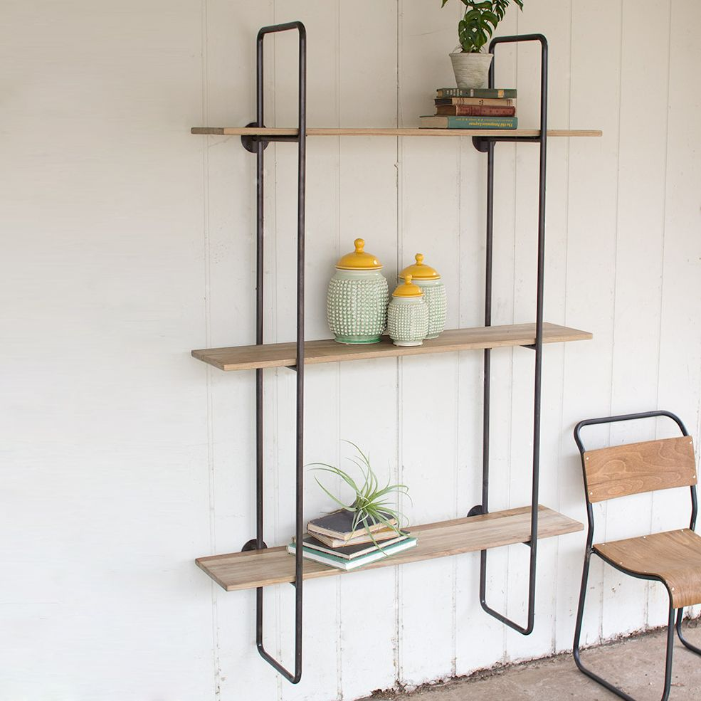 Dakota Open Wall Shelf | dotandbo.com | Pretty Products: For the ...