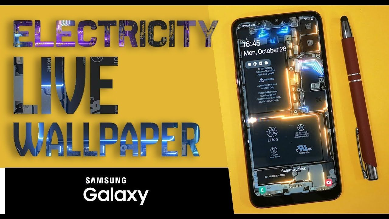 Electricity Live Wallpaper For Samsung Galaxy Free Samsung Galaxy Wallpaper Samsung Galaxy Live Wallpapers