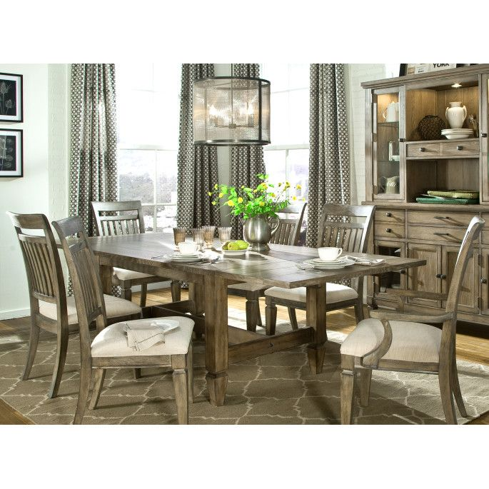 Legacy Classic Furniture Brownstone Village Dining Table Dining Table Chairs Dining Table In Kitchen Joanna Gaines Kitchen Table
