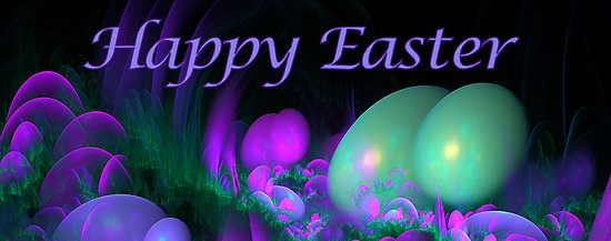 Facebook Covers Happy Easter Eggs Neon … Easter images
