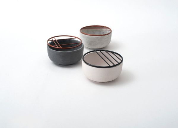 Ikebana Inspired Cups & Bowls by Hanna Kruse in home furnishings  Category