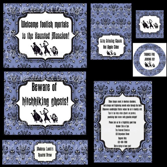 Haunted Mansion Cupcake Tombstones Pinterest Halloween Printable