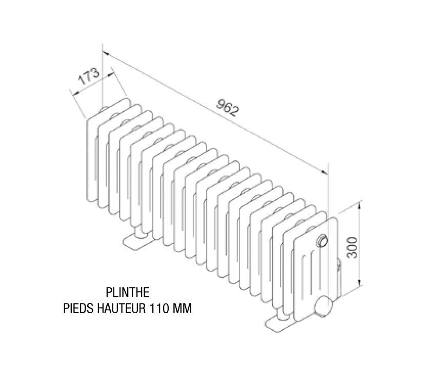 Radiateur Electrique Acova Vuelta Plinthe 1000w Avec Regulation Inertie Fluide Tmc03 100 100 Gf Radiateur Electrique Radiateur Radiateur Plinthe