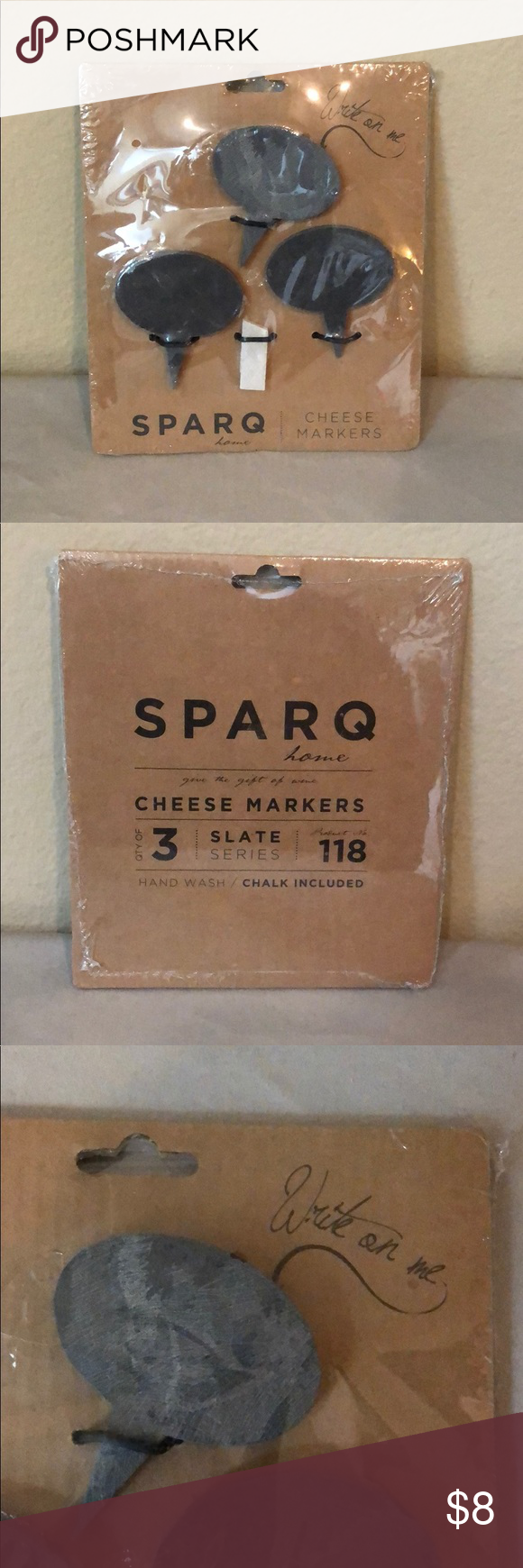 SPARQ home Cheese Markers I just added this listing on Poshmark: SPARQ home Cheese Markers.