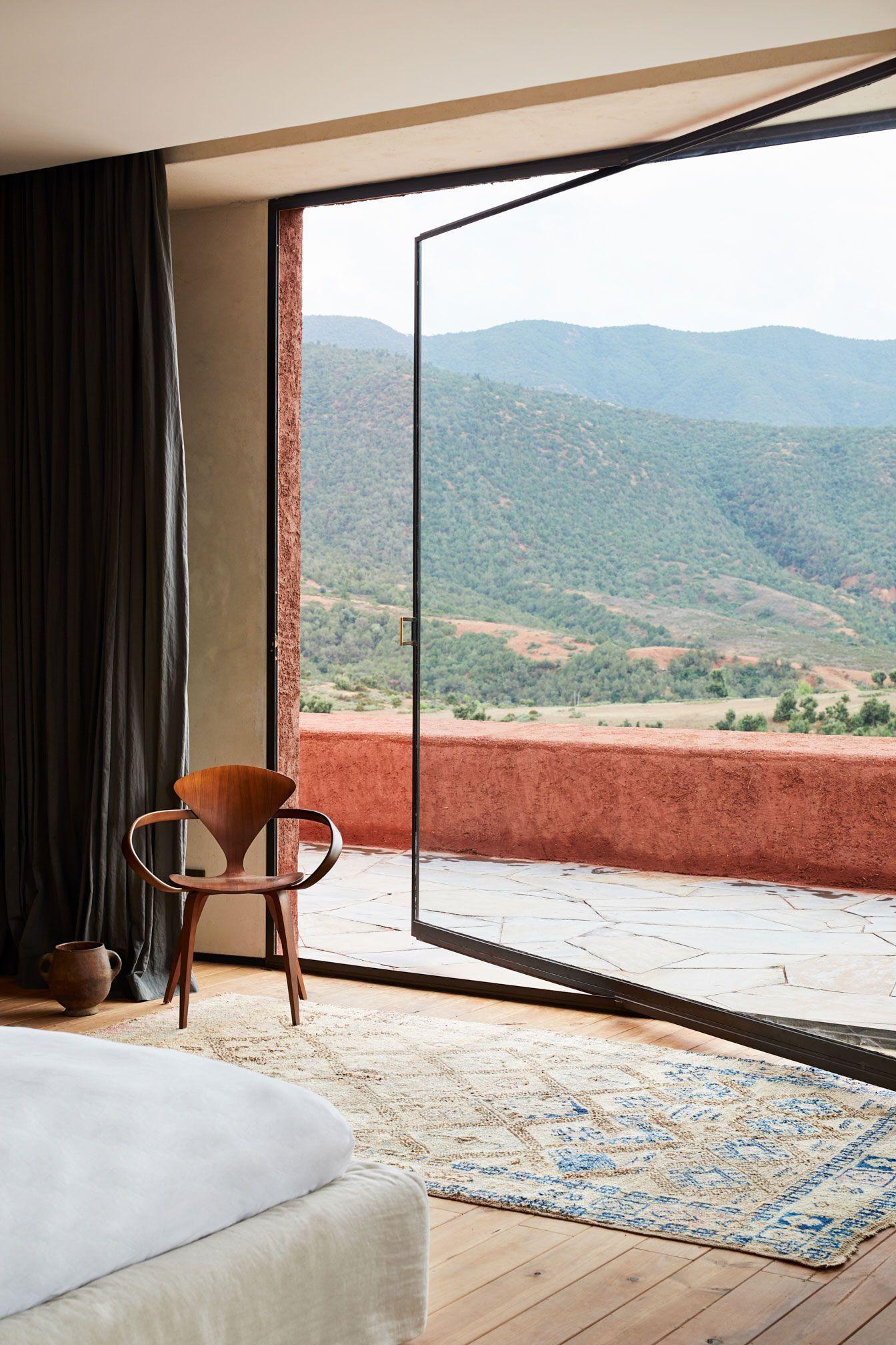 architecture - Tigmi Trading Rug Collection Shot Inside Villa E in Morocco #architecture