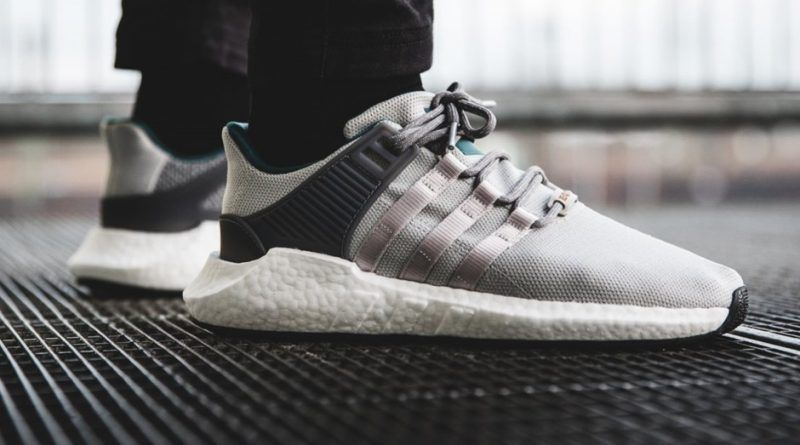 ADIDAS EQT SUPPORT 9317 GREY TWO & GREY THREE SNEAKERS IN