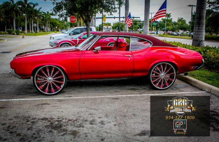 Candy Red Oldsmobile Cutlass Rides Magazine Donk cars