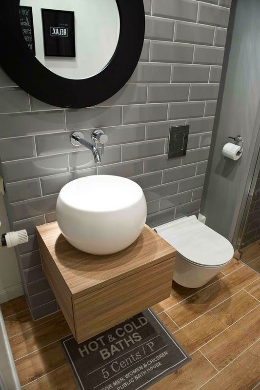 Accente vesele de galben în Polonia | Gäste wc, Gast und Badezimmer