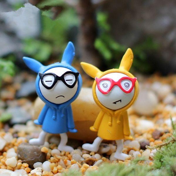 Random Moss DIY Miniature Dollhouse Fairy Garden Cute Cartoon Bugs Bunny Handsome Small Toys -in Plastic Crafts from Home & Garden on Aliexpress.com | Alibaba Group