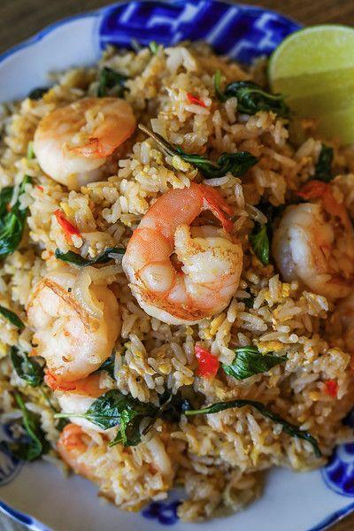 Photo of Thai Basil Fried Rice Recipe & Video – Seonkyoung Longest