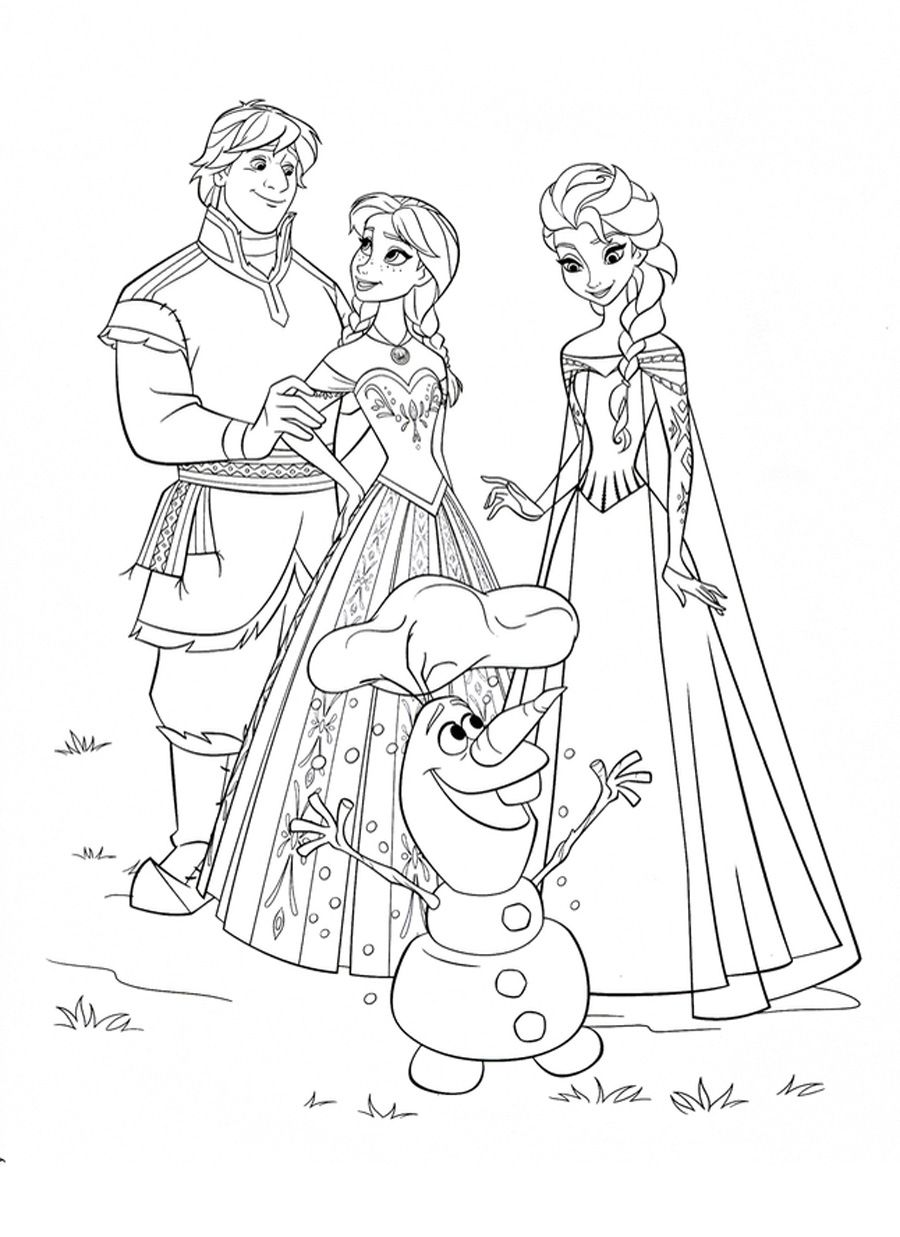 - Pin By Kylee McGrane On On-visit Activities Frozen Coloring