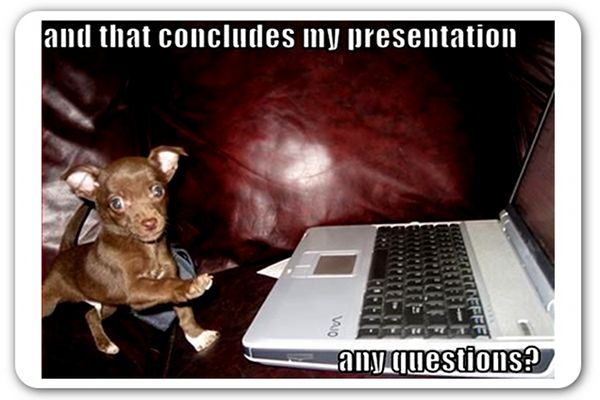 16 questions to ask before every presentation - From www.prdaily.eu