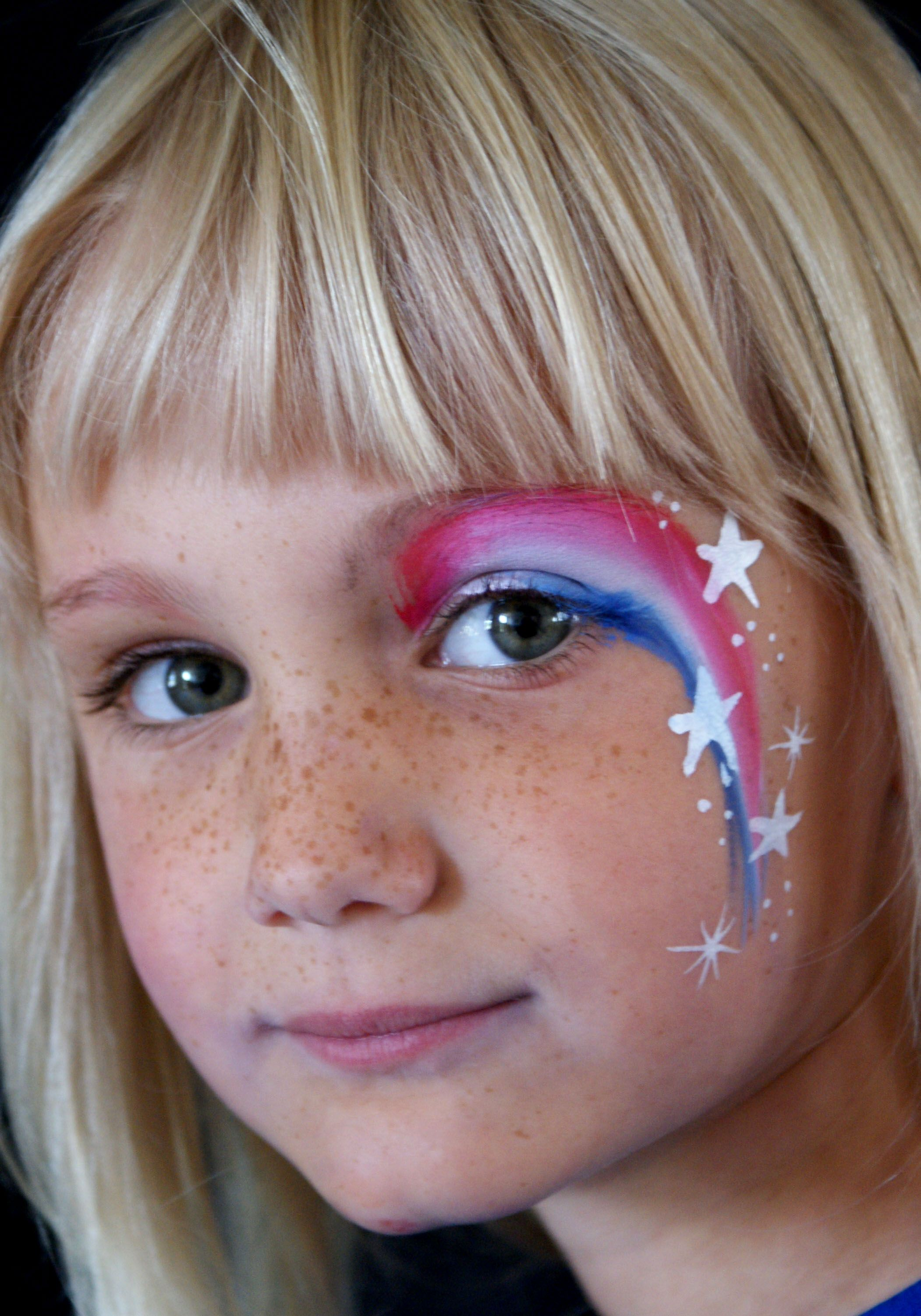 stars amp stripes face painting face painting ideas for