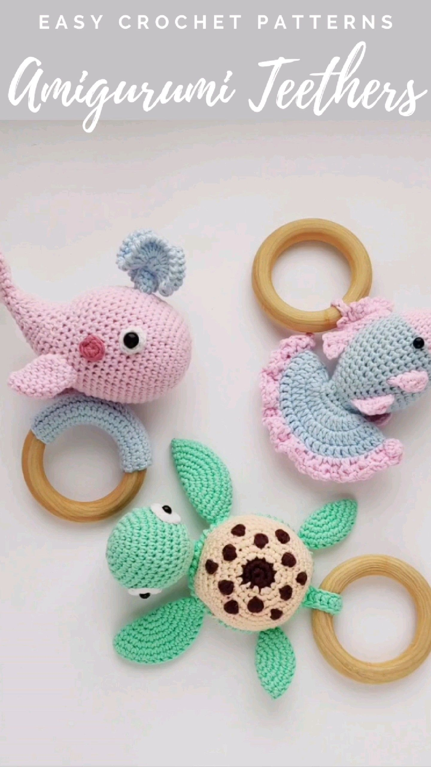 Crochet rattles pattern, Amigurumi toys, Crochet t