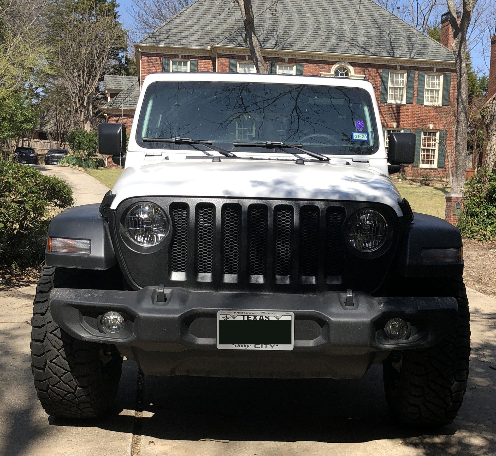 Blacking Out The Grill Page 2 2018 Jeep Wrangler Forums Jl Jt Pickup Truck Rubicon Sahara Sport Unlimited White Jeep Jeep Wrangler Forum Jeep