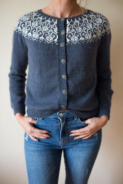 Lotusblomstkofte / Lotus flower jacket