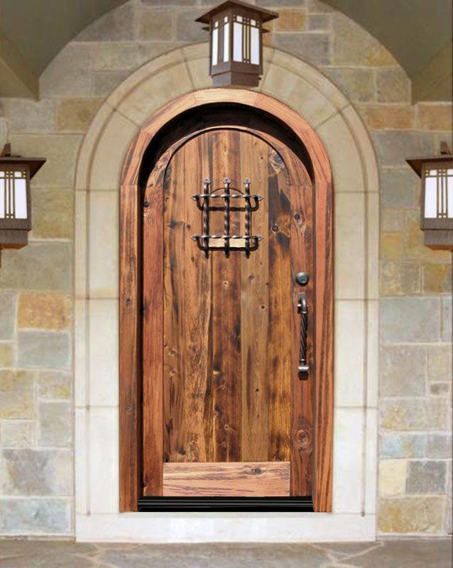 I luv big, heavy, old wood doors | Homeo oh Homeo where art thou ...