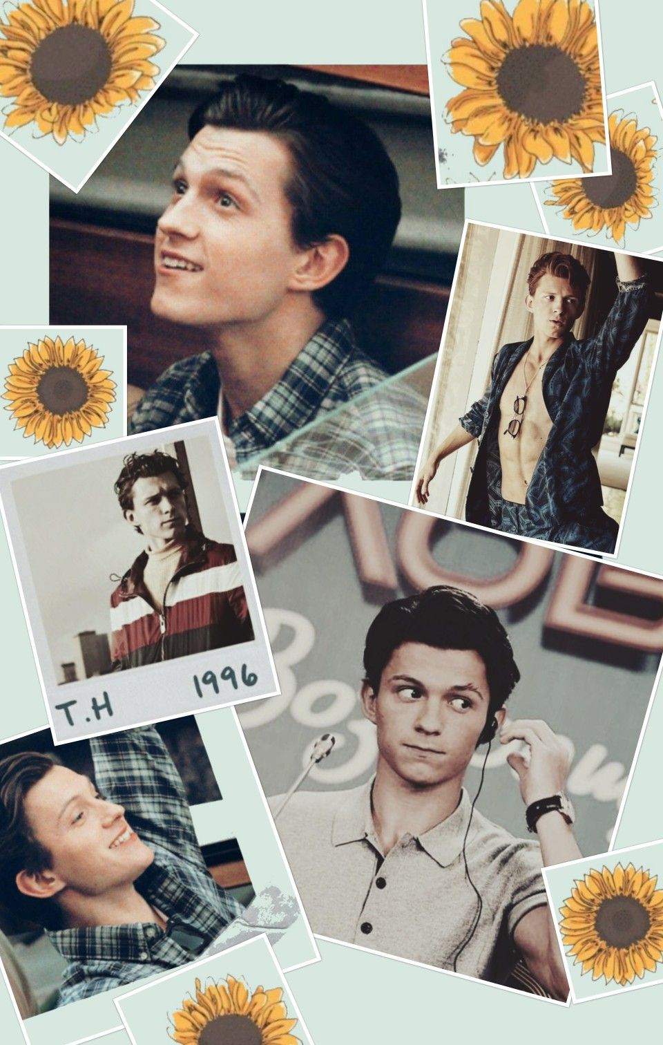 Tom Holland Collage