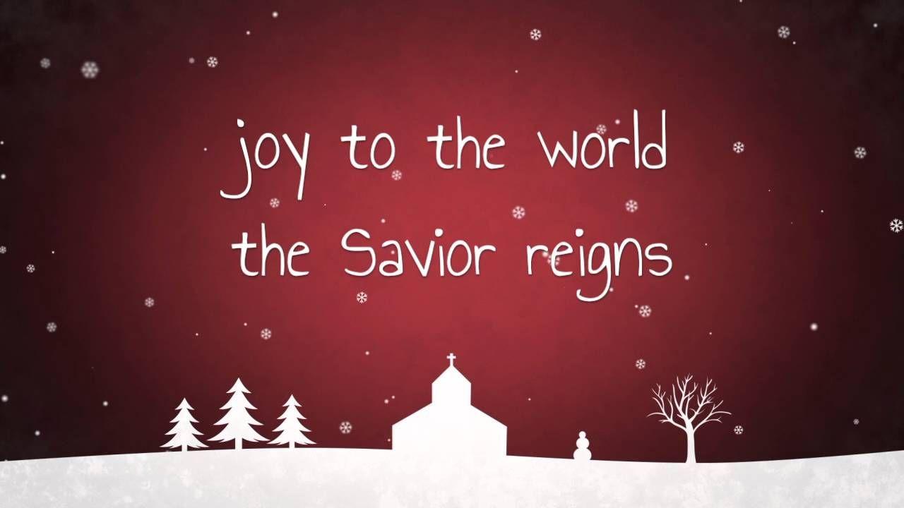 Joy to the World - Kid's Version w/ Lyrics   Joy to the world, Childrens ministry christmas ...