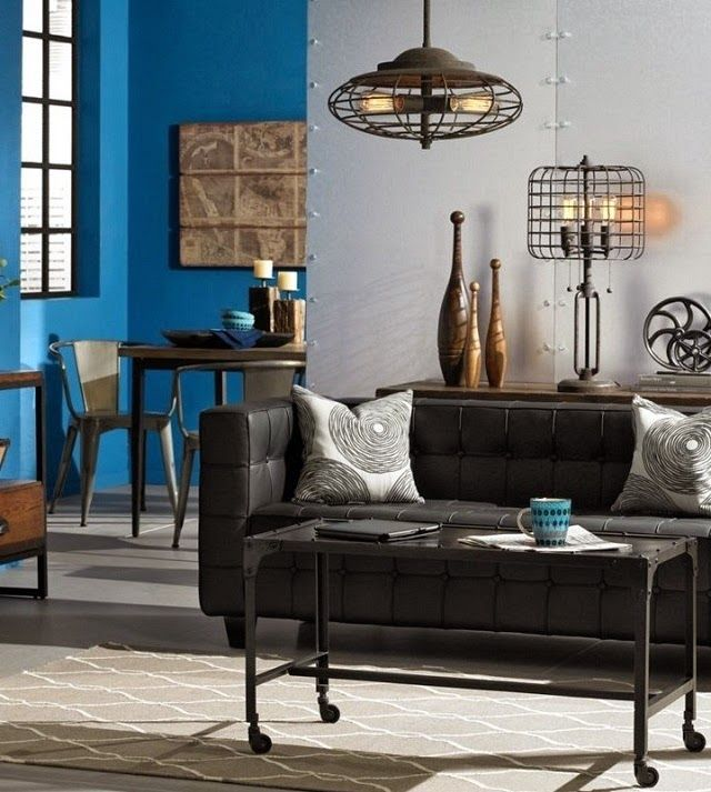 10 Gorgeous Rustic Industrial Home Decor Ideas