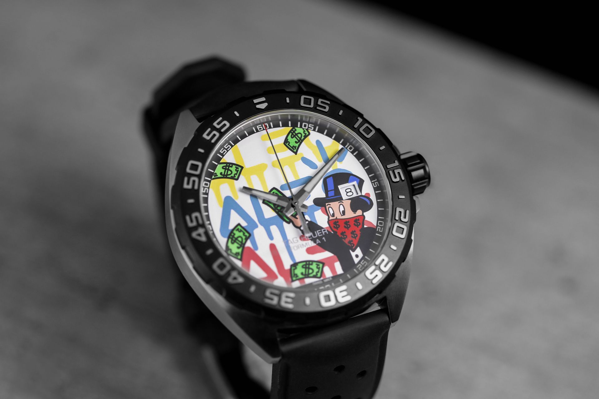 Tag Heuer Presents Two Watches With Designs By Alec Monopoly Tag