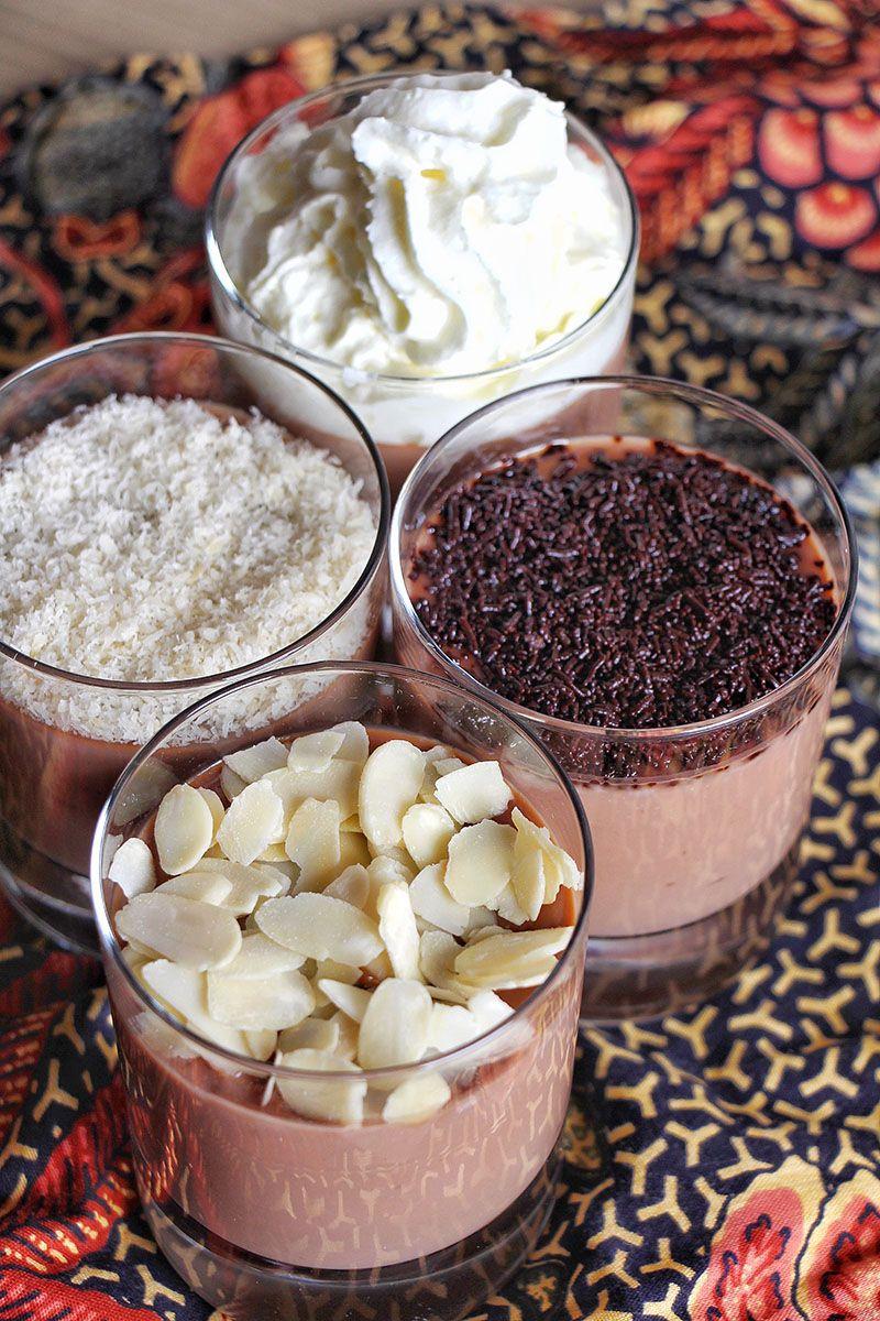 Creme Dessert Au Chocolat Avec 3 Ingredients Seulement