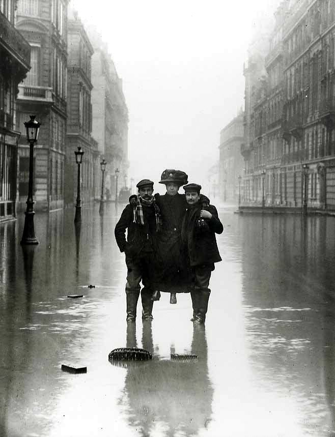 france the 1910 great flood of paris was a catastrophe in which the