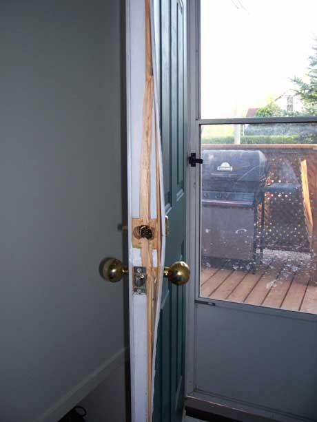 The Door Lock Guard The Vast Majority Of The Time When Force Is Applied To A