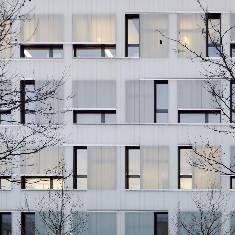 gewerbehof in m nchen bogevischs buero architekten form pinterest munich fa ades. Black Bedroom Furniture Sets. Home Design Ideas