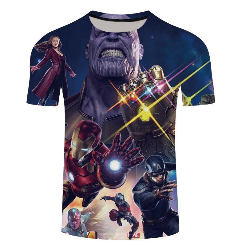 142940850 Camisetas Vingadores - Guerra Infinita