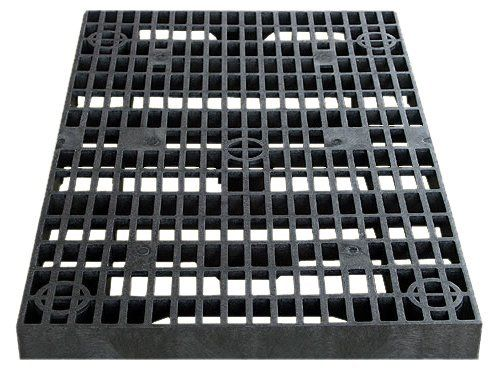 "2 x 4 Grate Panel by Structural Plastics Corp.. $69.50. This heavy duty grate is the foundation for creating a pond-less or disappearing water feature. Grates are approximately 2 feet x 4 feet by 2-5/8"""" thick and are made of made of high-density polyethylene (HDPE)."