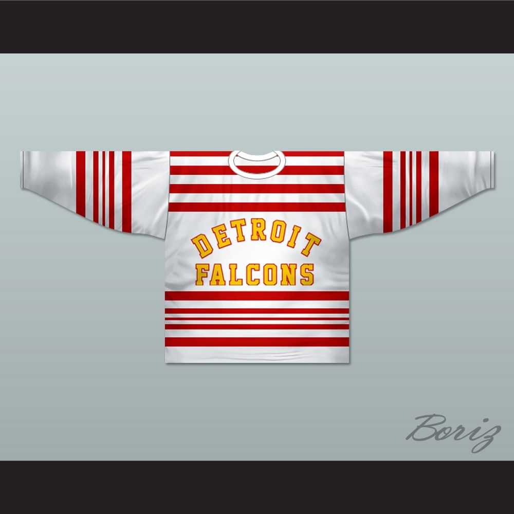 Looking To Buy Detroit Falcons 1930 32 Hockey Jersey Any Player Or Number New Detroit Falcons Pay A Visit To Http Www Borizcus With Images Hockey Jersey Hockey Jersey