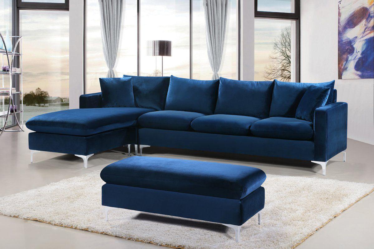 Lumi Modern Velvet Sectional Sofa Large Sectional Sofa Modern Sofa Sectional Velvet Sectional